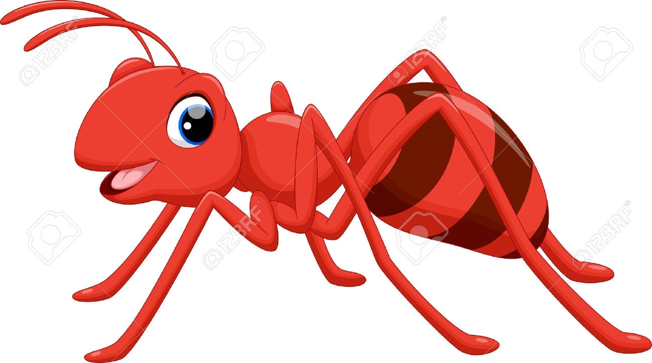 Ant clipart. Letters
