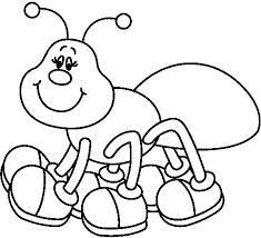 Ants clipart black and white. Ant google search coloring
