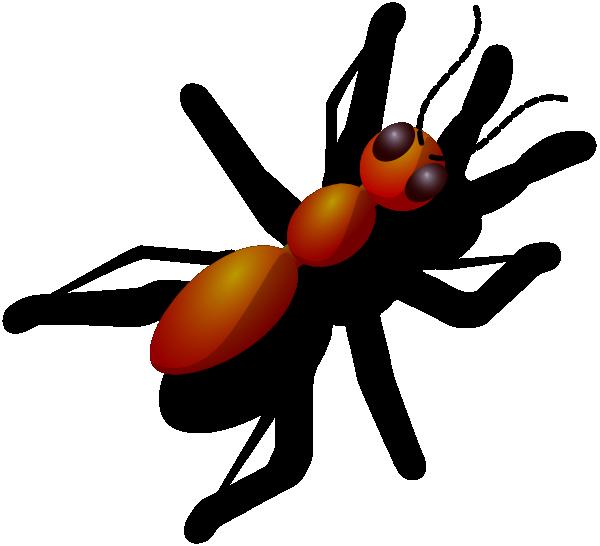 Digital art clip at. Ant clipart body