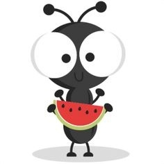Ant clipart border. Picnic ants letters cute