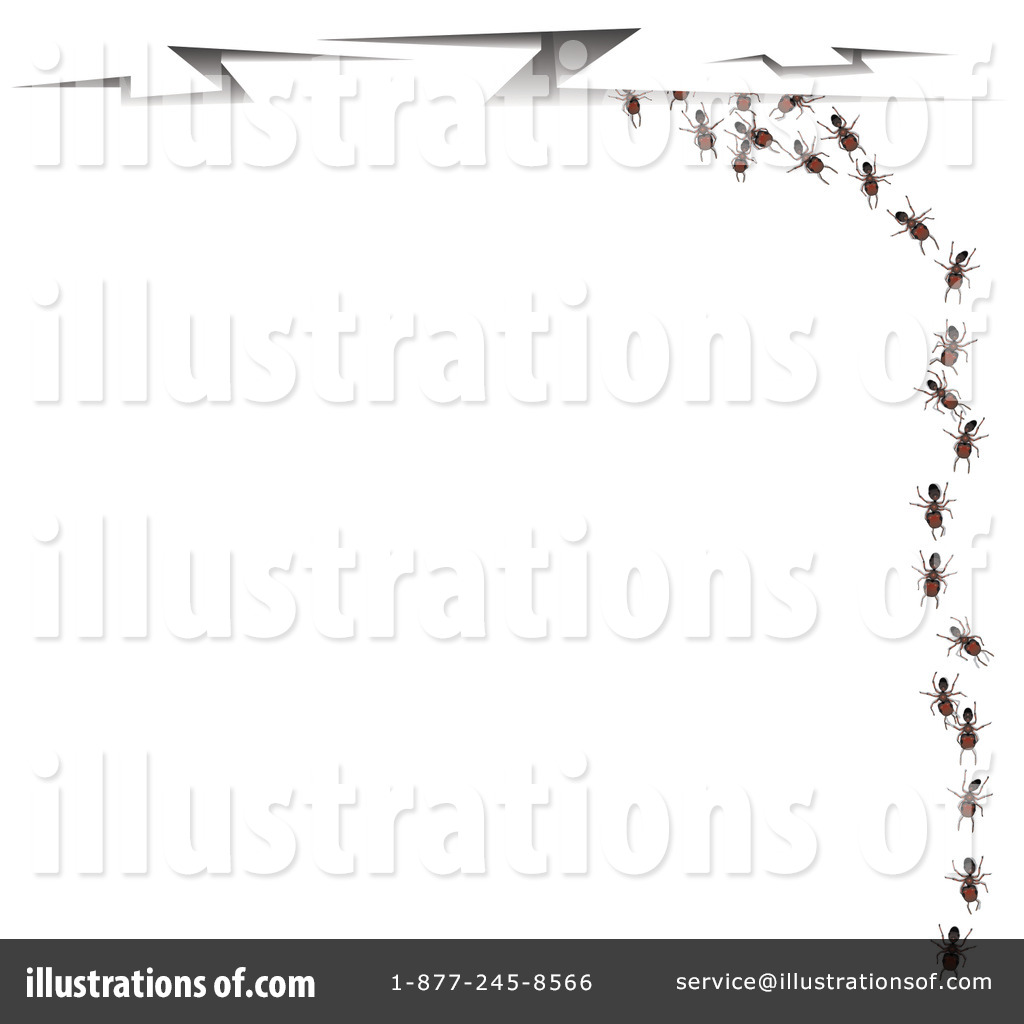 Ants illustration by leo. Ant clipart border