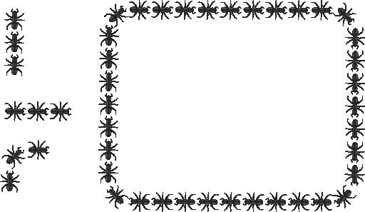 Ant clipart border. Free cliparts download clip