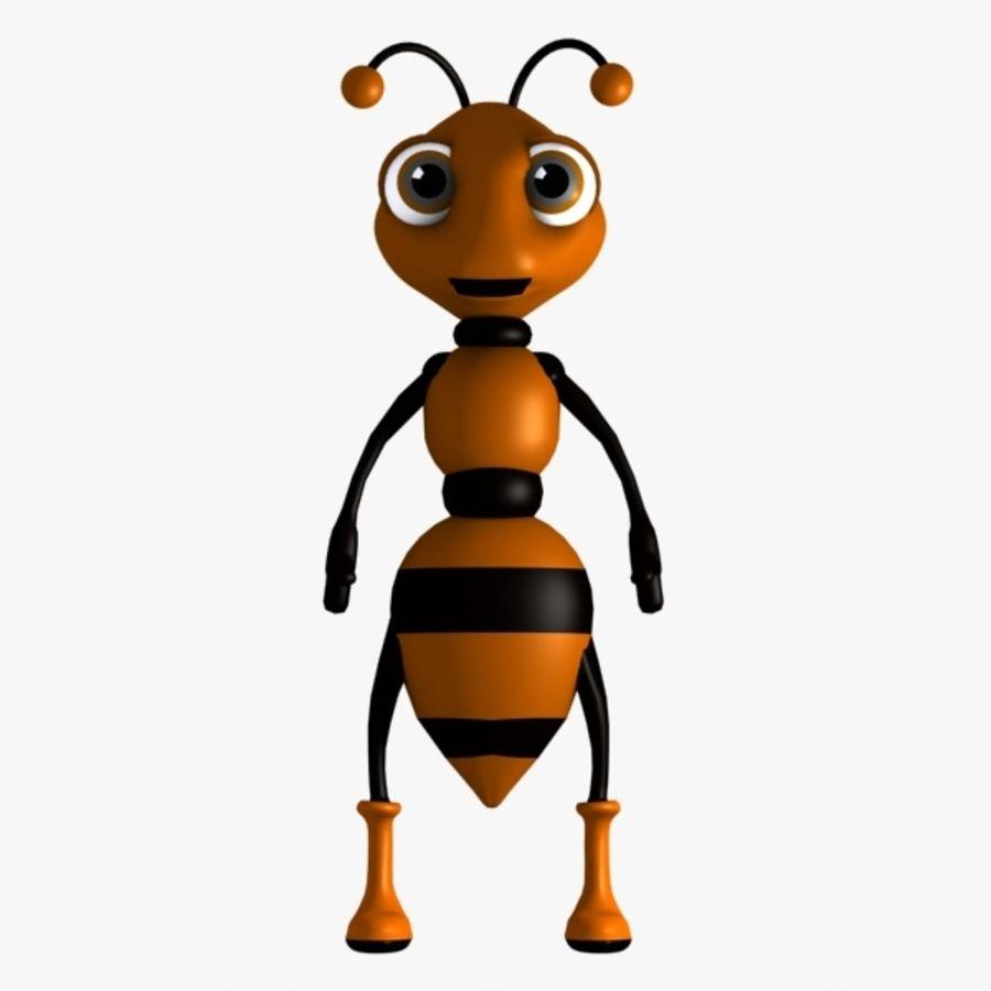 Ant d model obj. Ants clipart character