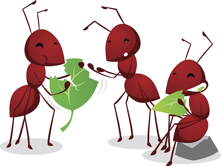 Ant clipart children's. The ants go marching