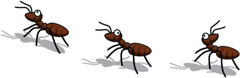 Free pictures of ants. Ant clipart children's