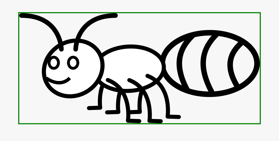 Hill line picture of. Ant clipart coloring