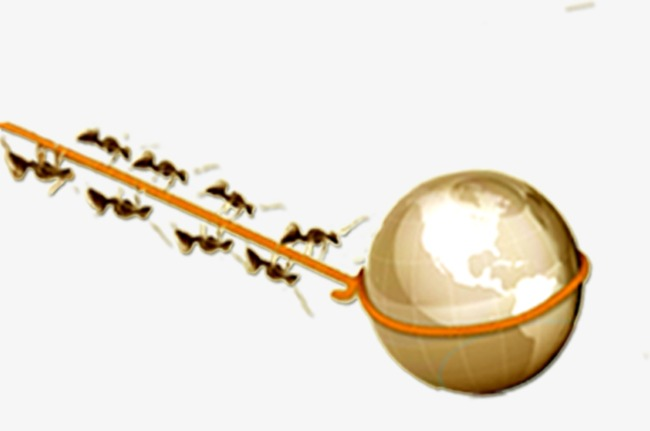 Ant clipart cooperation. Business element earth png