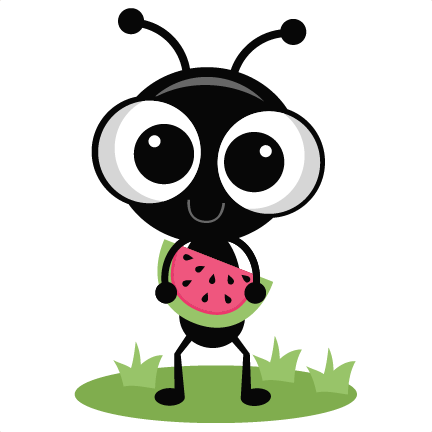 Ant clipart cute. Standing miss kate s