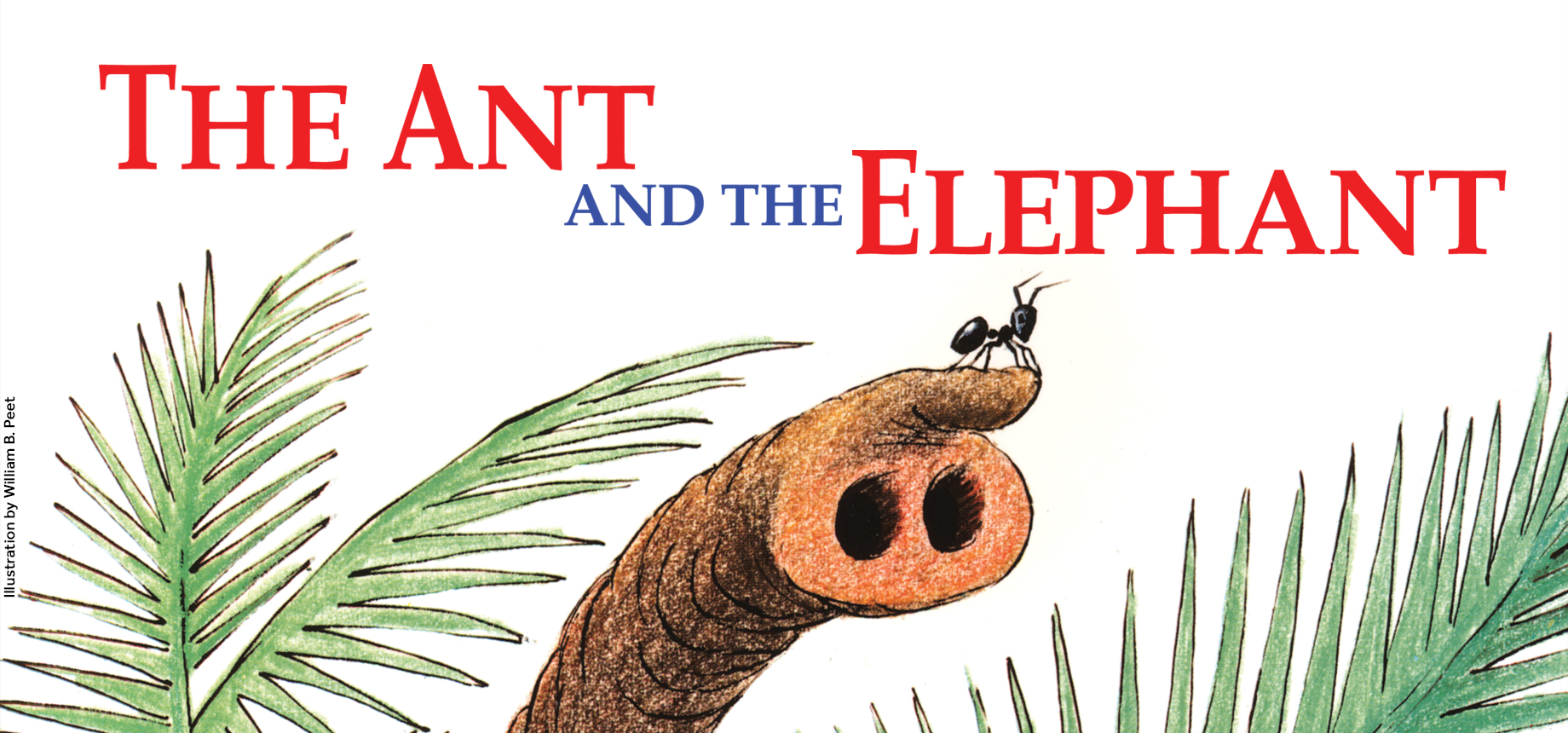 Ants clipart elephant. The ant and music