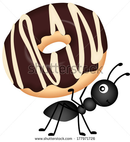 Carrying . Ants clipart food