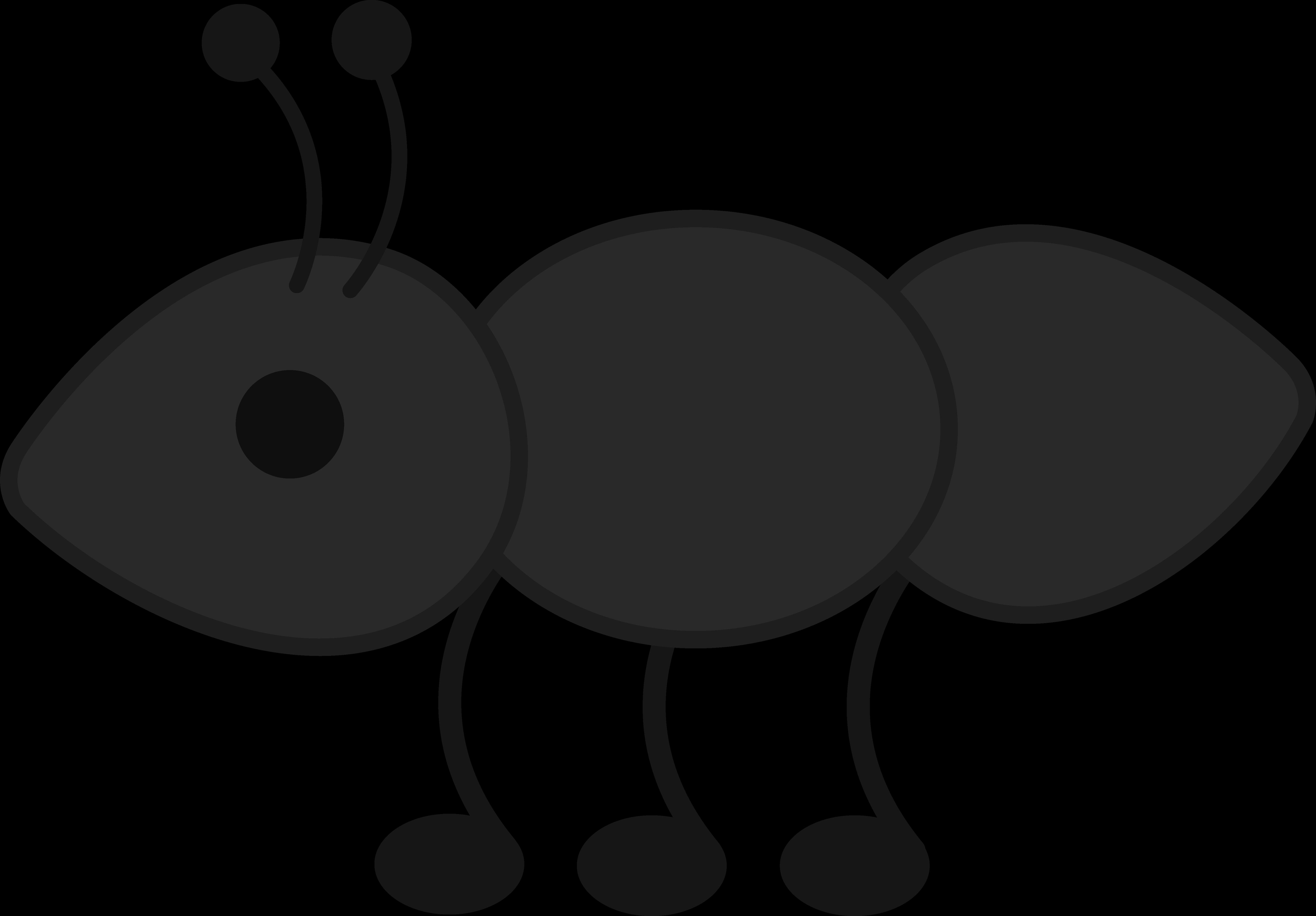 Fire clipartblack com animal. Ant clipart gray