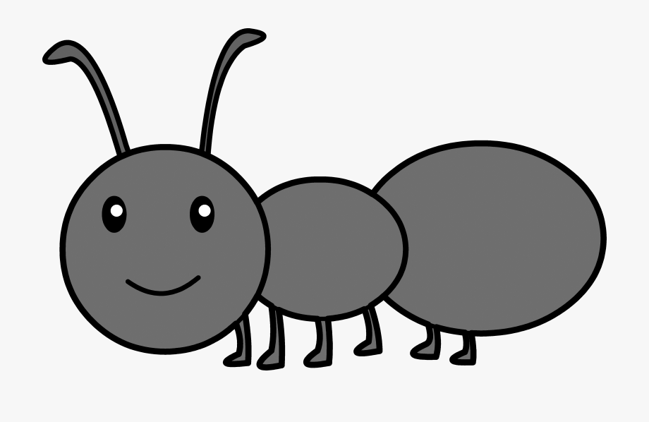Clip art ants free. Ant clipart gray