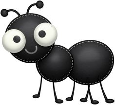Cartoon ant mascot stock. Ants clipart cute