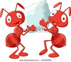 Free picnic clip art. Ants clipart family