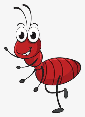 ant clipart happy
