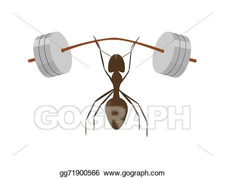 Vector stock illustration gg. Ant clipart little ant
