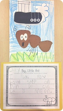 Hey the first grade. Ant clipart little ant
