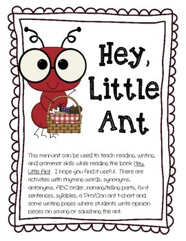 Ant clipart little ant. Hey mini unit by