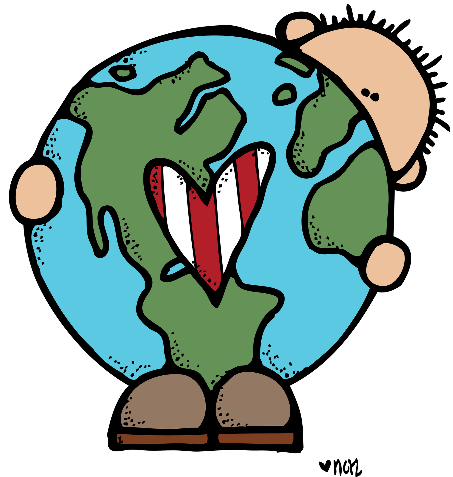 Pajamas clipart melonheadz. Earth day images