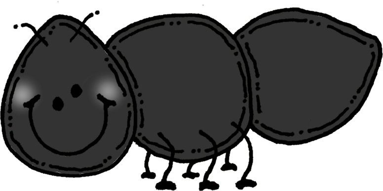 Picnic pencil and in. Ant clipart melonheadz