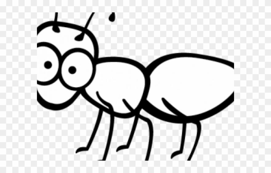 Ant clipart outline. Ants cartoon clip art