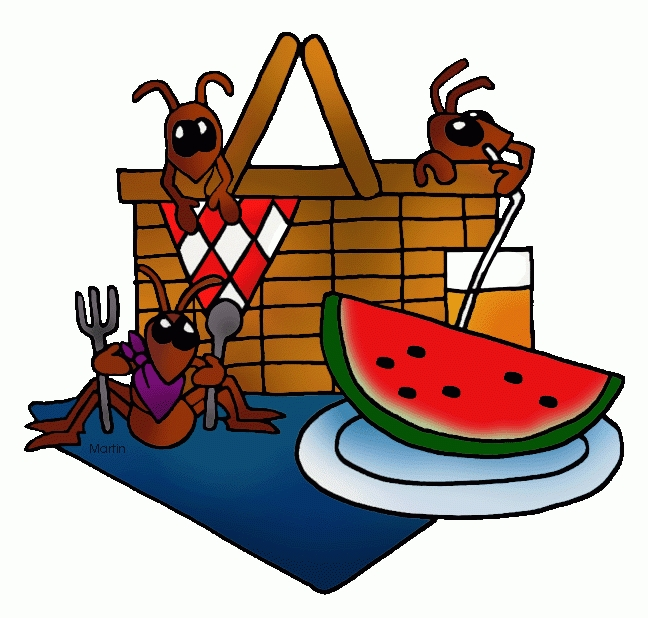 Ant clipart picnic. Letters free clip art