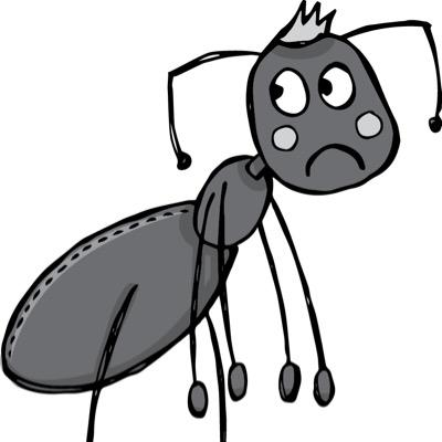 Ant clipart sad. Ants project
