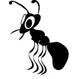 Remake clip art panda. Ant clipart small ant