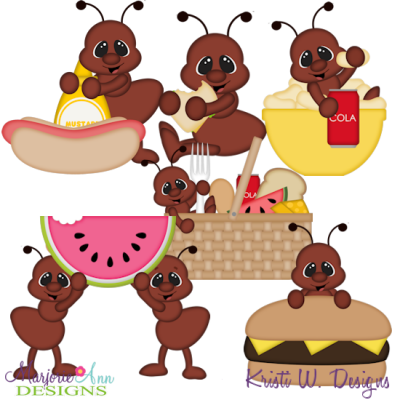 Ant clipart summer picnic. Ants svg cutting files