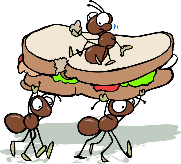 Cartoon ants google search. Ant clipart summer picnic