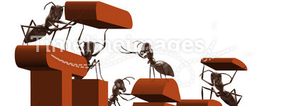 Ant clipart teamwork. Team building or work