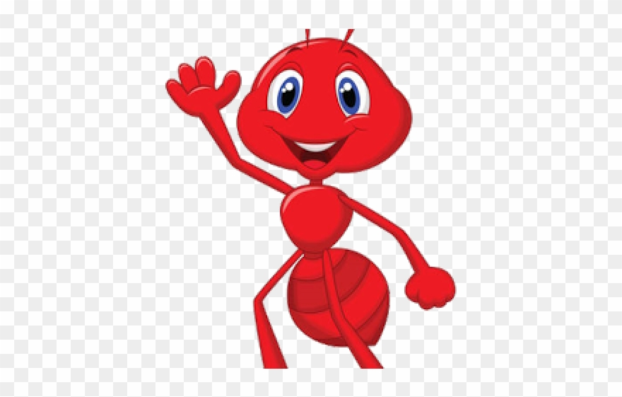 Teamwork cartoon png download. Ants clipart red ant