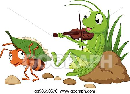 Eps illustration cartoon the. Ant clipart work