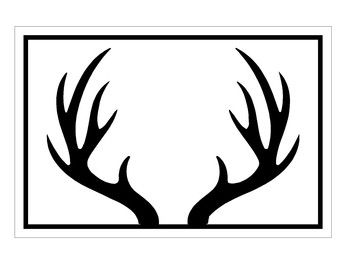 Deer clipart antler clipart. Clip art use these