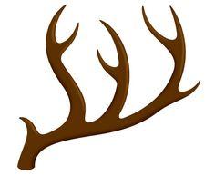 Deer antler clip art. Antlers clipart