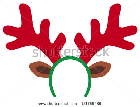 Reindeer antlers free download. Antler clipart animated