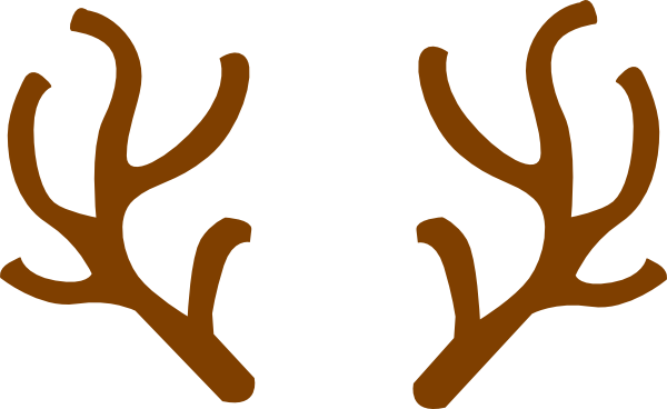 Reindeer . Antlers clipart animated