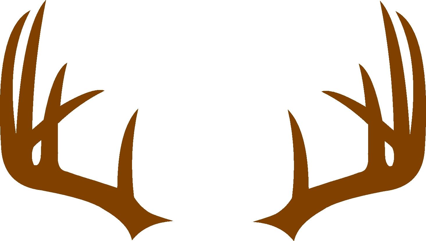 Deer monogram frame svg. Antler clipart bow