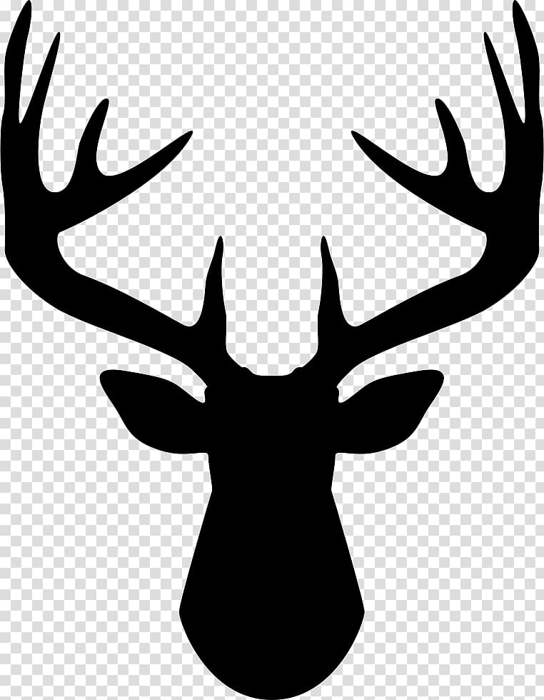 Deer sketch computer icons. Antler clipart buck antler