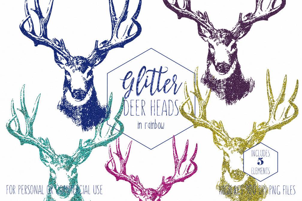Antler clipart buck antler. Glitter deer commercial use
