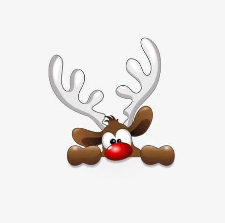 Antler clipart cute. Christmas deer png antlers