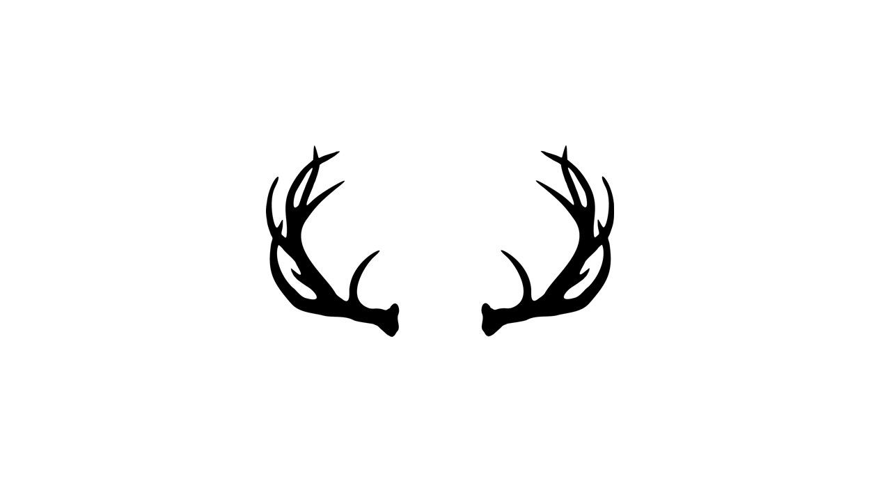 antler clipart deer antler