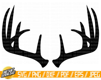 Drawing etsy . Antler clipart draw