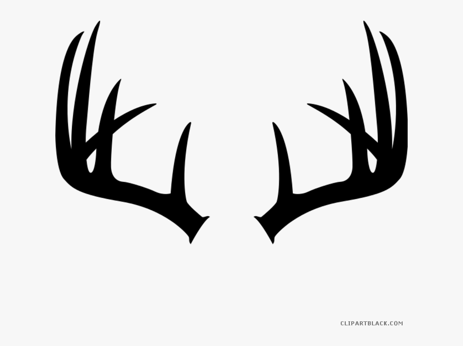 Antlers clipart cartoon. Bat wings brown deer