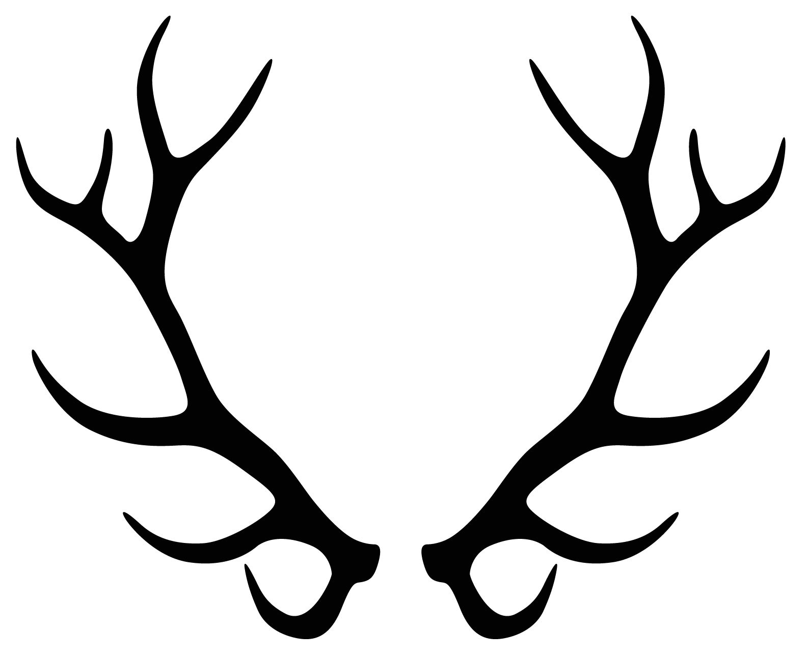 Antler clipart elk.  collection of antlers