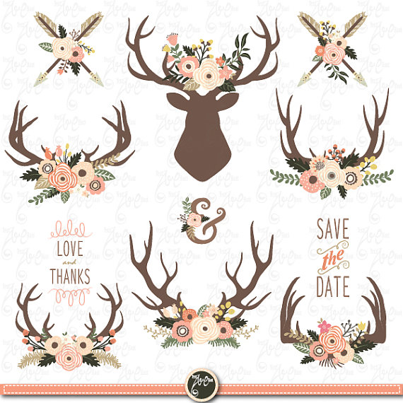 antlers clipart file
