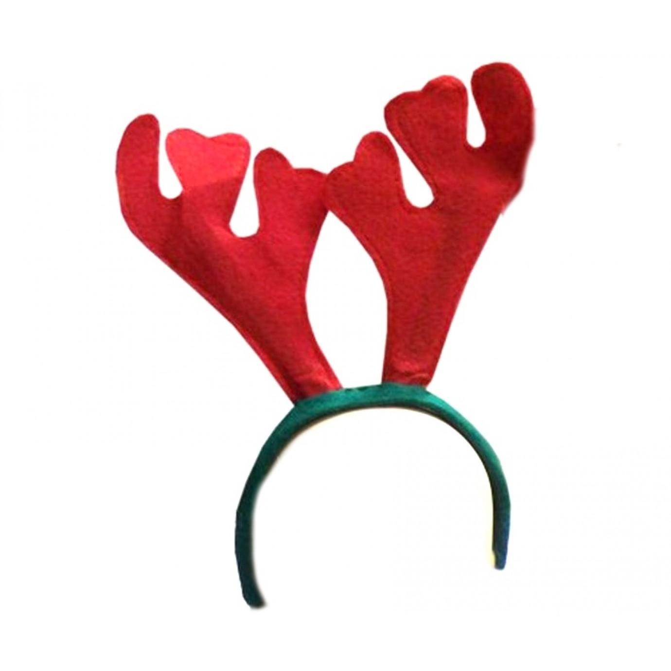 Reindeer accessories fancy dress. Antlers clipart headband