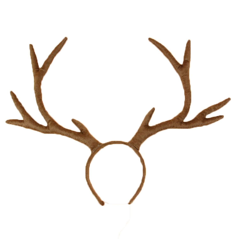 Antler clipart headband. Amazon com hamalielplush reindeer
