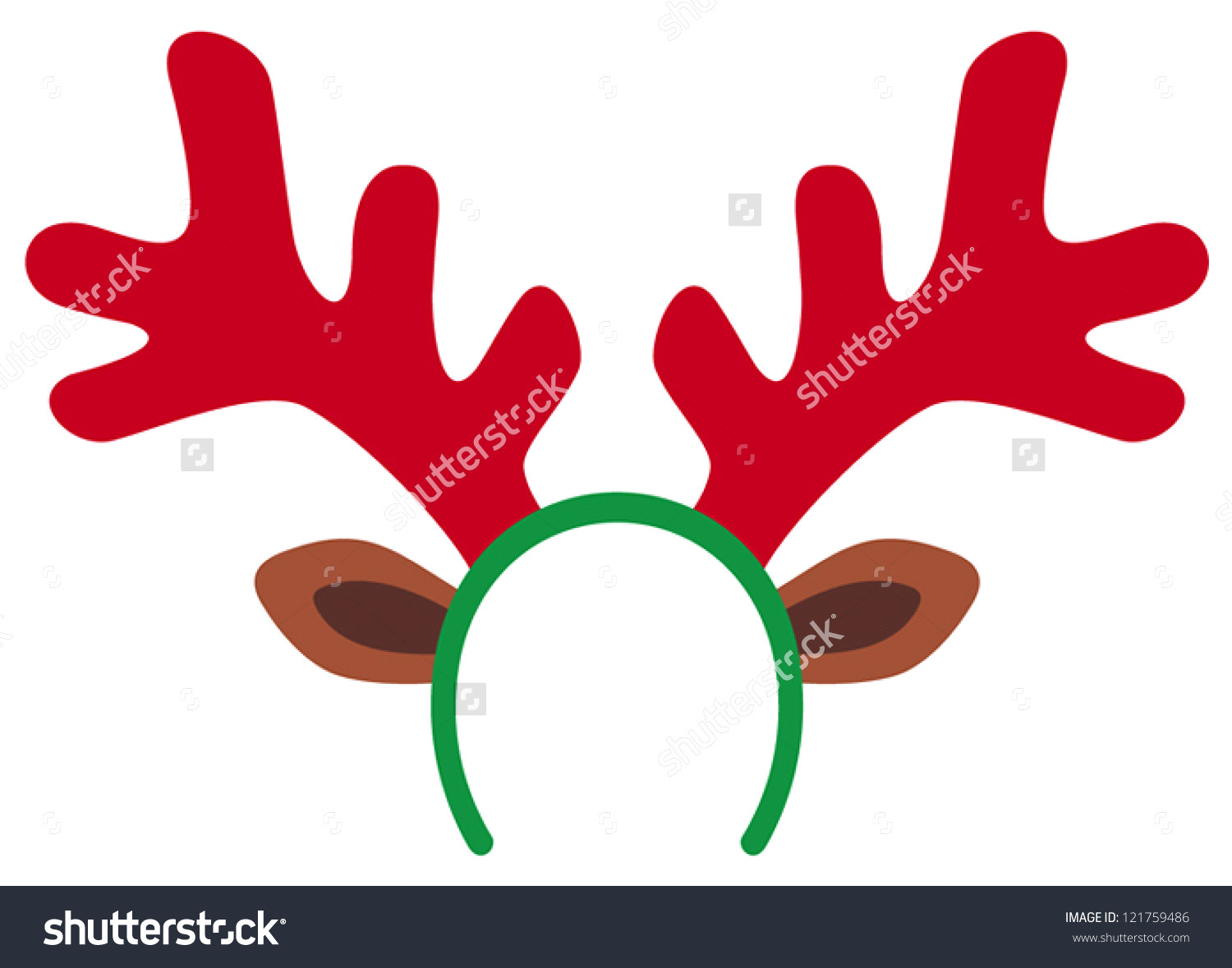 Category coloring pages rescuedesk. Antler clipart headband