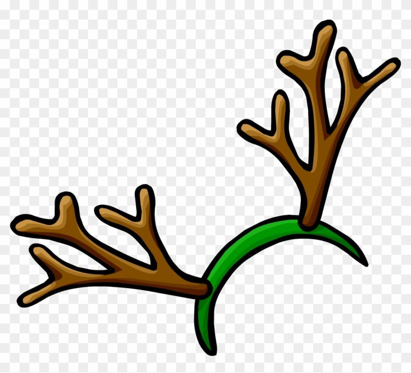 Reindeer free . Antlers clipart headband